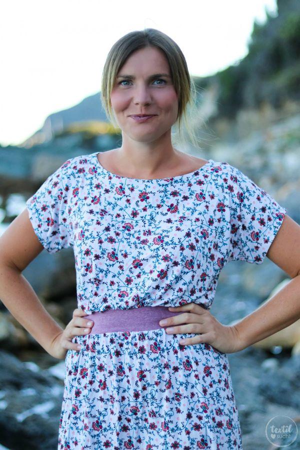 Produktfoto von textilsucht für Schnittmuster Sommerkleid Federleicht