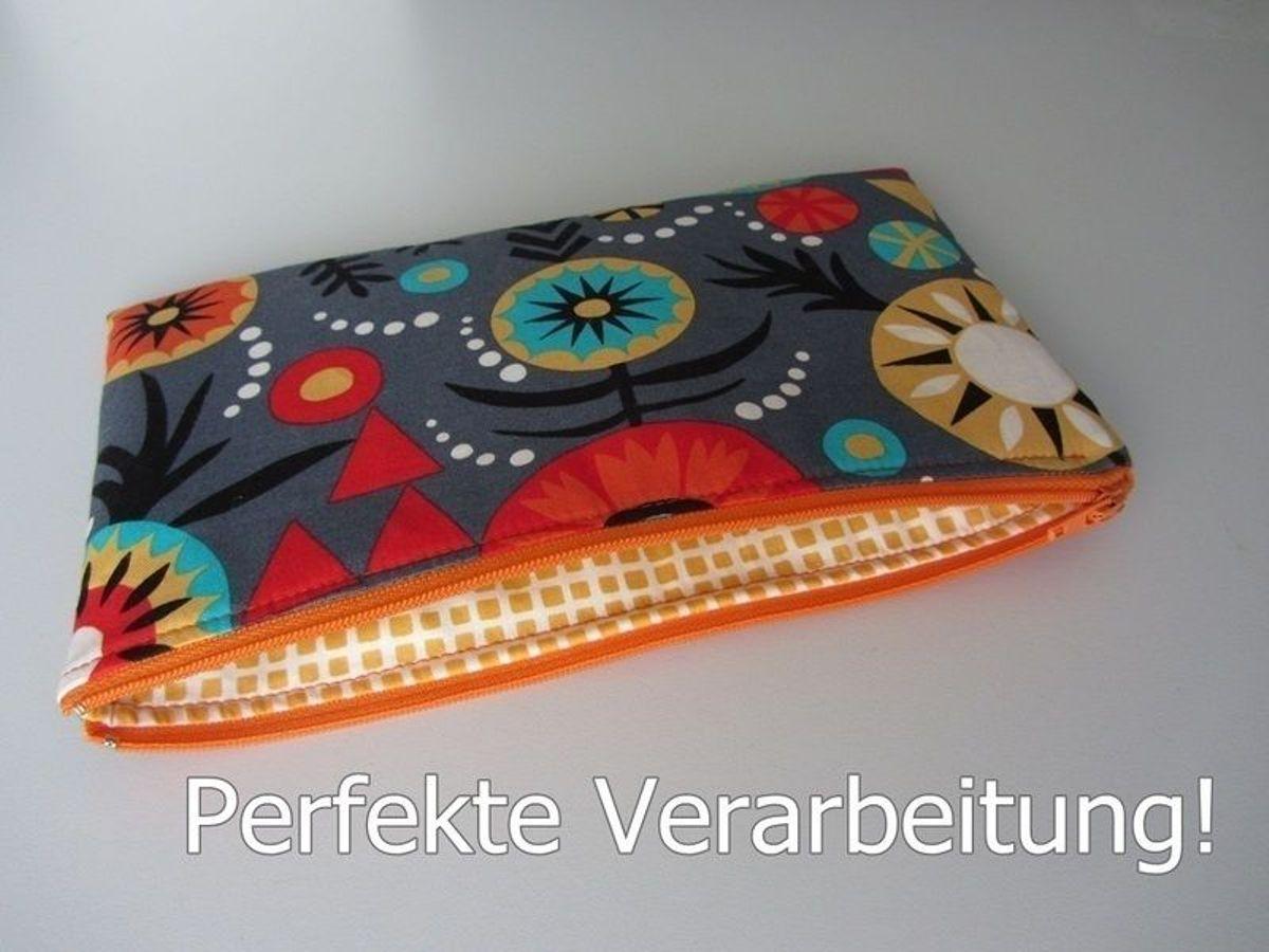 Produktfoto von stoffbreite für Schnittmuster Perfekte Reißverschlusstasche