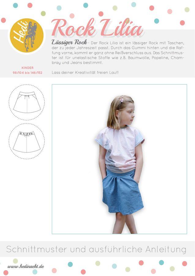 Produktfoto von Hedi für Schnittmuster Hüftrock Lilia