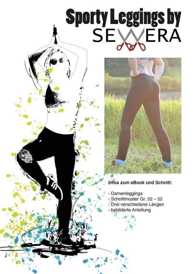 Schnittmuster Sporty Leggings von sewera