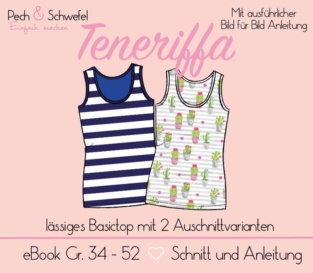 Produktfoto von Pech & Schwefel für Schnittmuster Damentop Teneriffa
