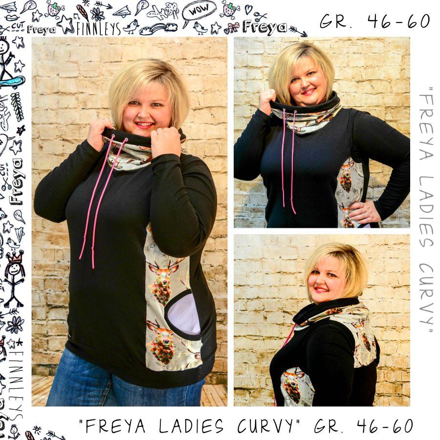 Produktfoto von Finnleys für Schnittmuster Freya Ladies Curvy