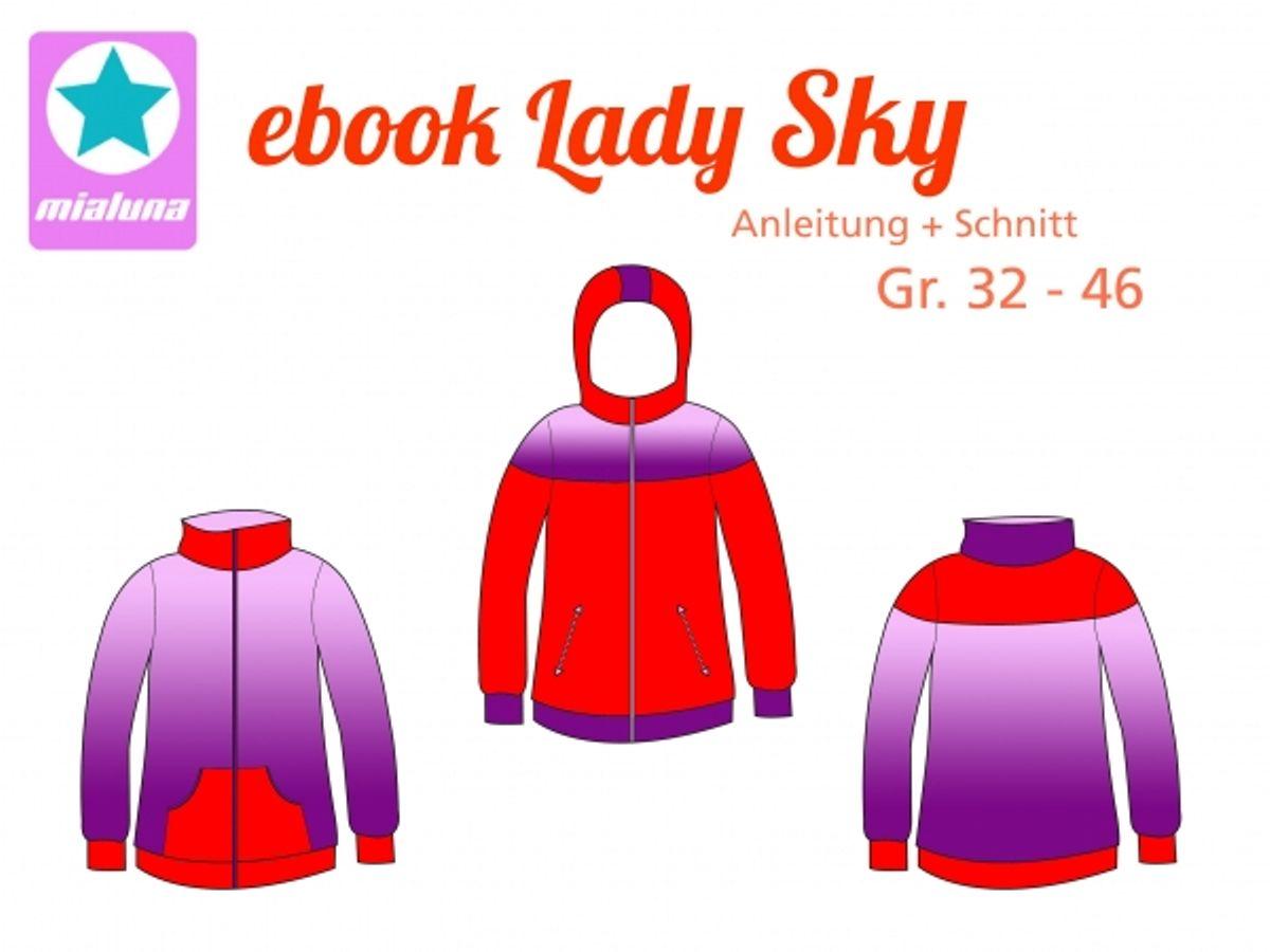 Produktfoto von mialuna für Schnittmuster Lady Sky