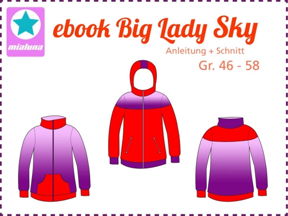 Produktfoto von mialuna für Schnittmuster Big Lady Sky