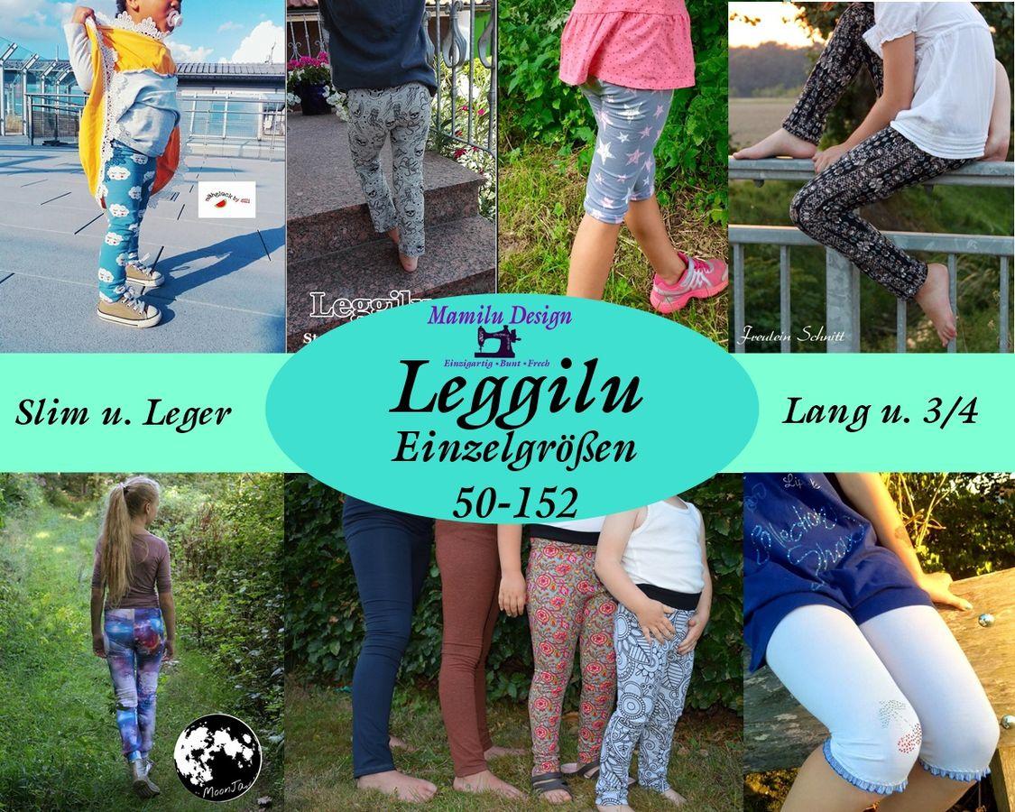 Produktfoto von Mamilu Design für Schnittmuster Leggilu