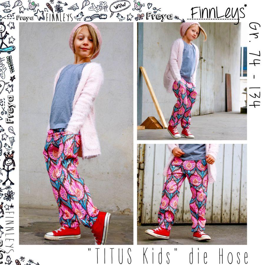 Produktfoto von Finnleys für Schnittmuster Titus Kids