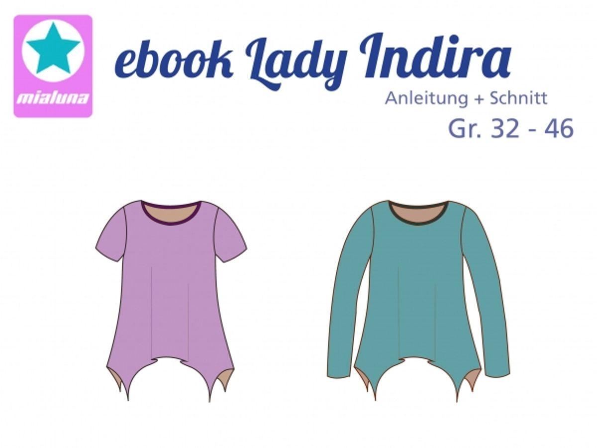 Produktfoto von mialuna für Schnittmuster Lady Indira