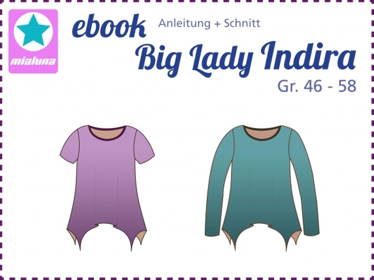Produktfoto von mialuna für Schnittmuster Big Lady Indira
