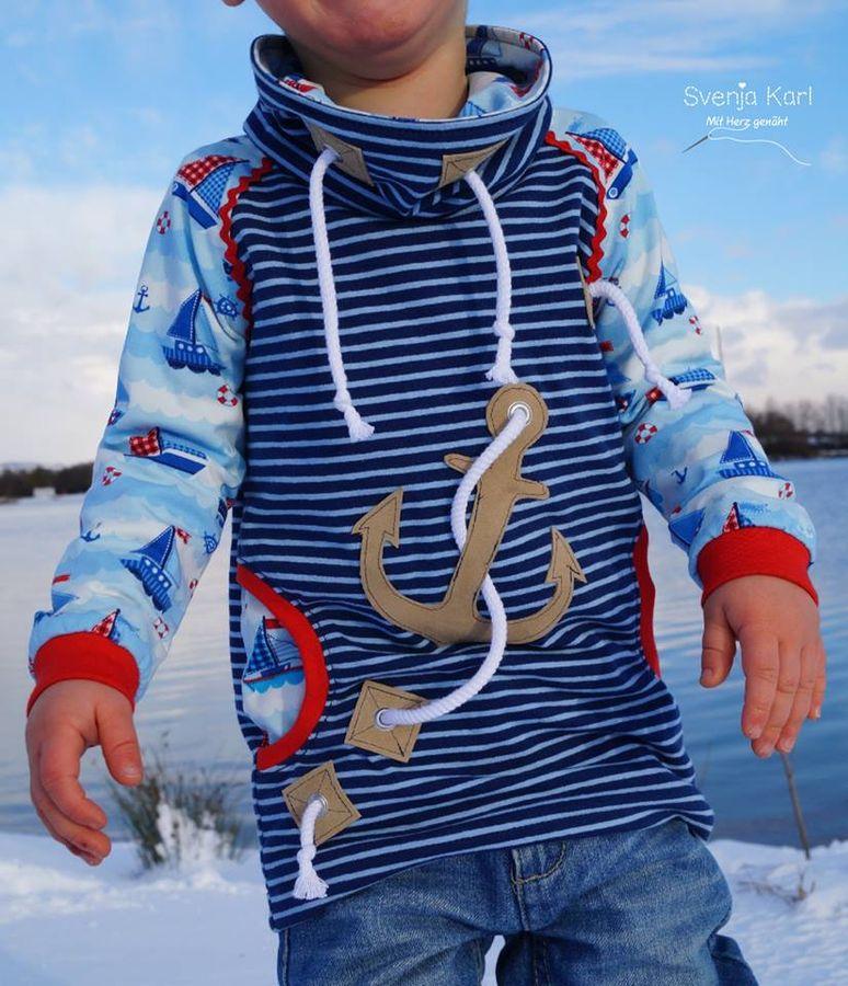 Schnittmuster Raglansweater Max & Maxi von textilsucht