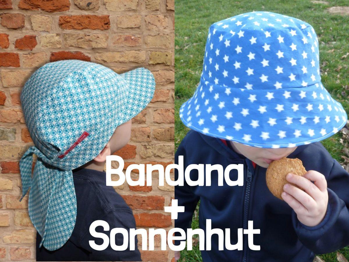 Kombi-Angebot Bandana + Sonnenhut
