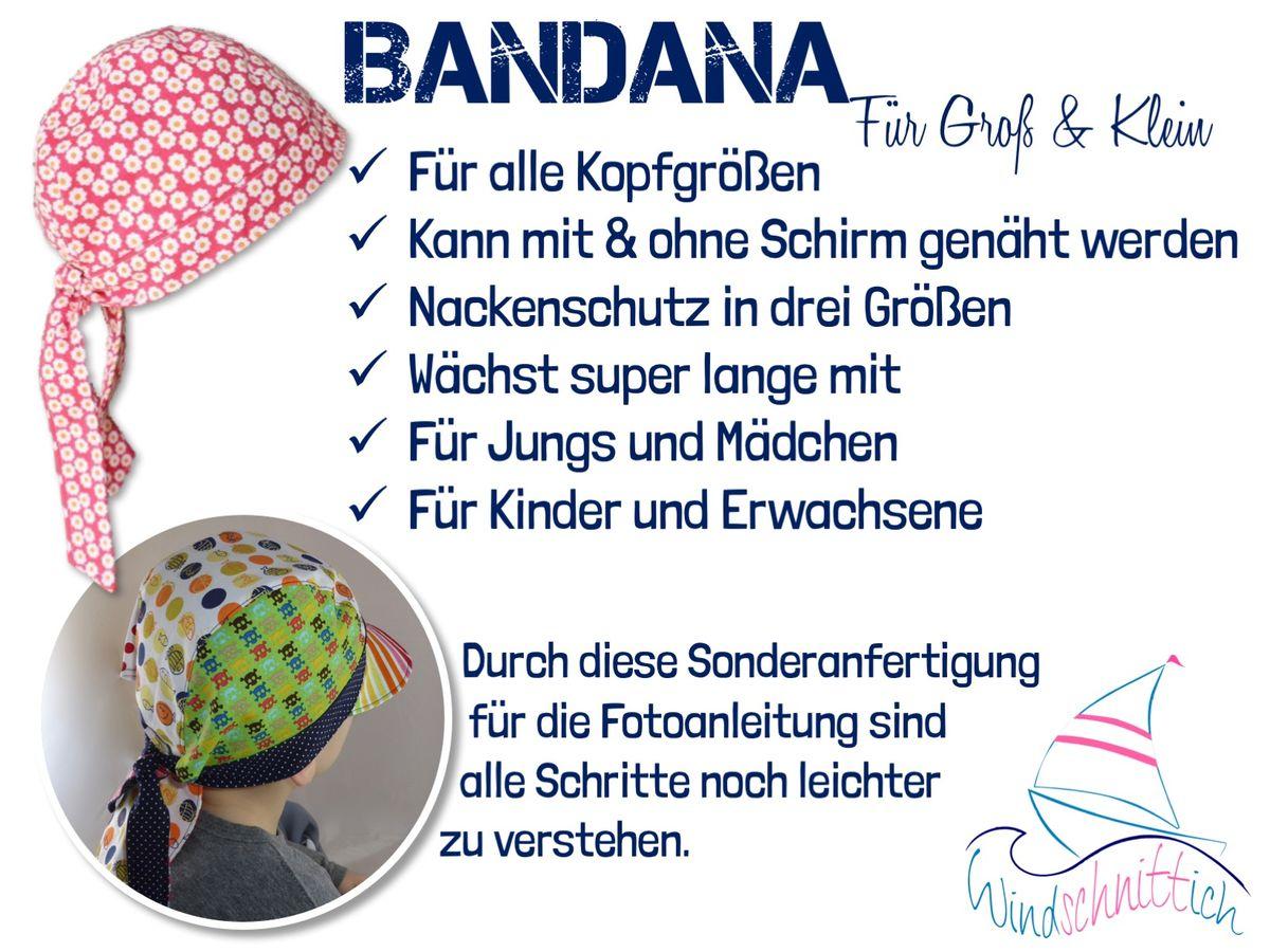 Produktfoto 12 von Windschnittich für Schnittmuster Bandana + Sonnenhut