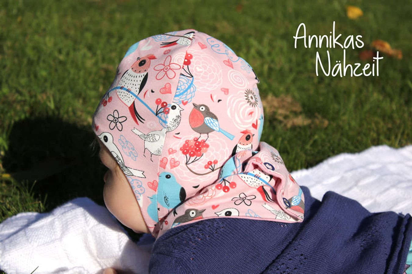 Produktfoto 2 von Bunte Nähigkeiten für Schnittmuster Kombi-eBook Mupi-Mütze & Halswärmer Charly