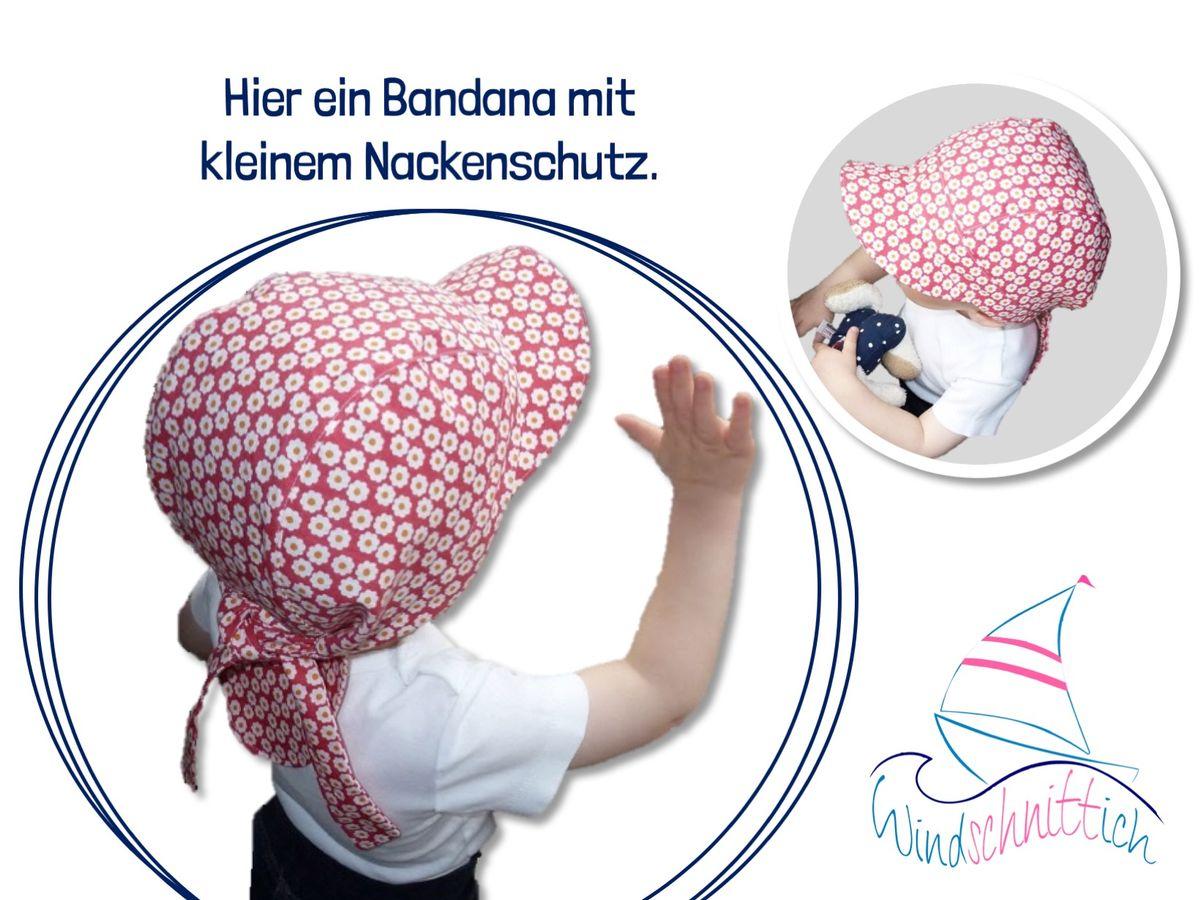 Produktfoto 2 von Windschnittich für Schnittmuster Bandana + Sommerhut Lotti