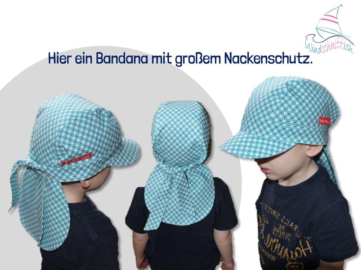 Produktfoto 4 von Windschnittich für Schnittmuster Bandana + Sommerhut Lotti