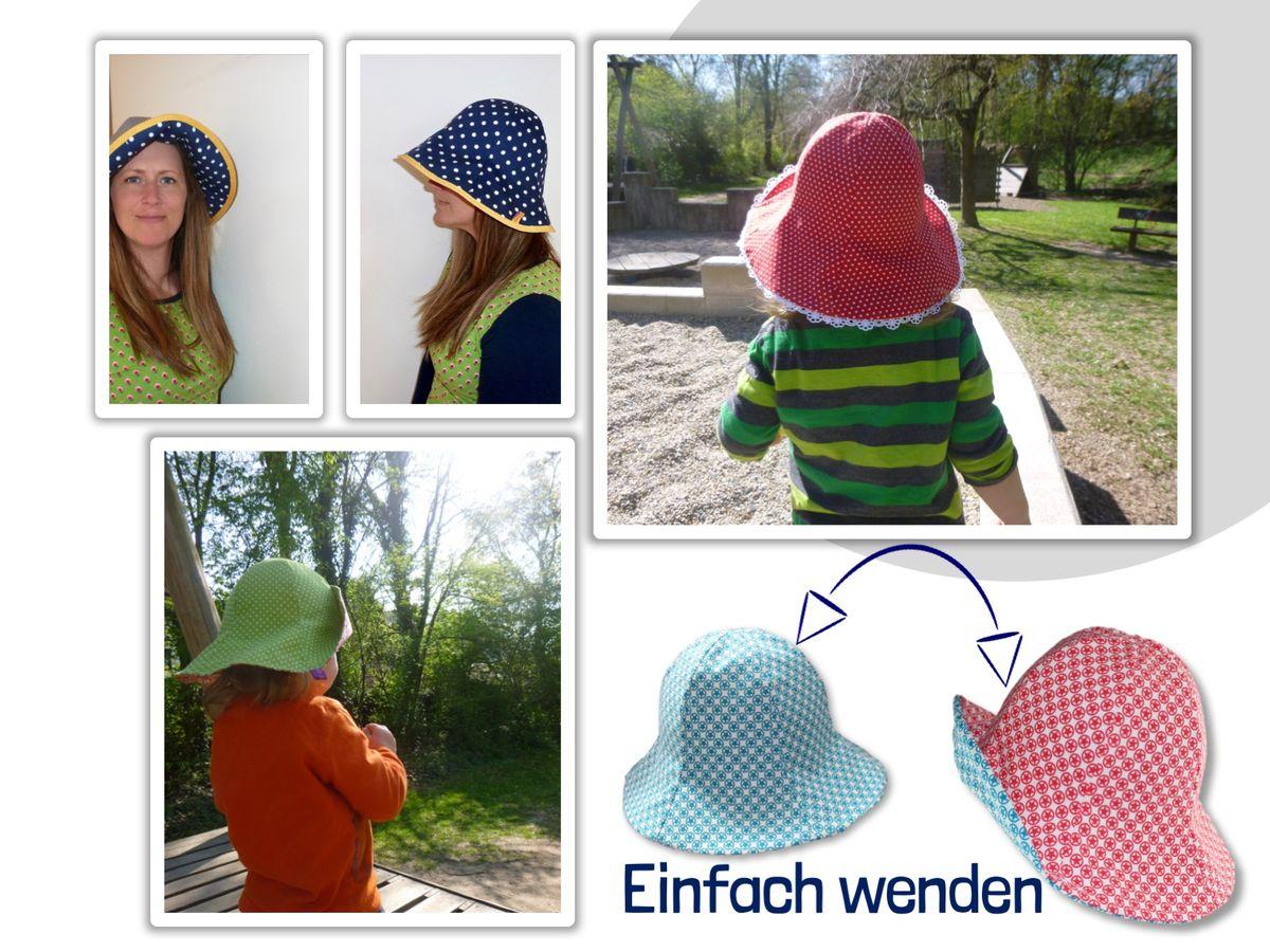 Produktfoto 7 von Windschnittich für Schnittmuster Bandana + Sommerhut Lotti