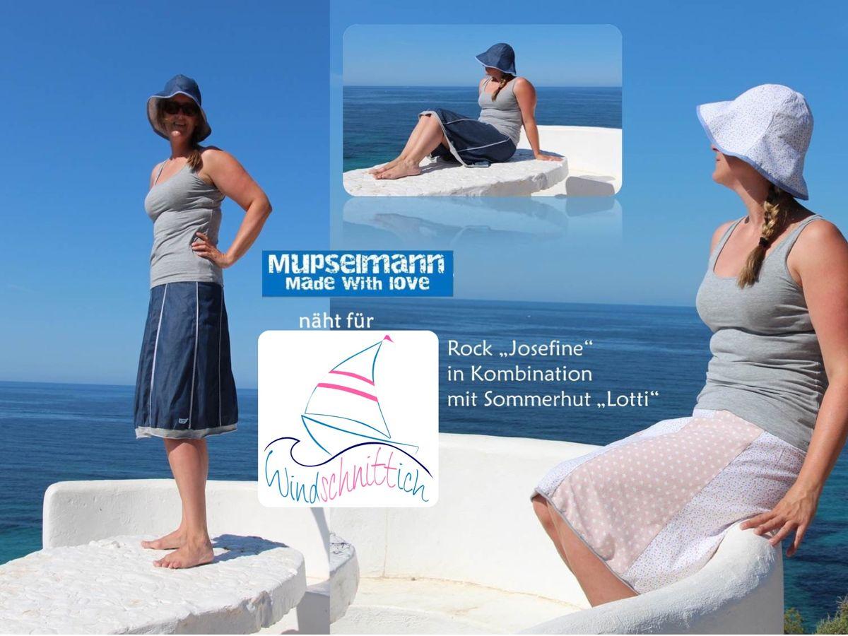 Produktfoto 8 von Windschnittich für Schnittmuster Bandana + Sommerhut Lotti