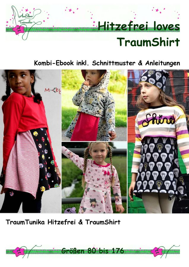 Produktfoto 1 von AmElina Träumelie für Schnittmuster Hitzefrei loves TraumShirt