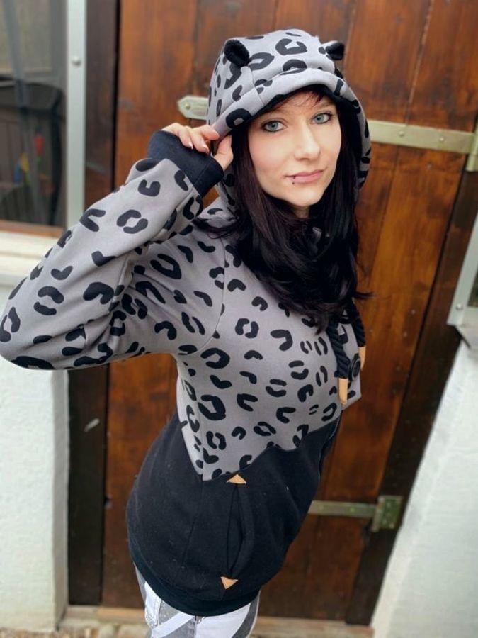 Produktfoto 2 von Mamili1910 für Schnittmuster KombiEBook Jacke Pihla Sweat+Softshell