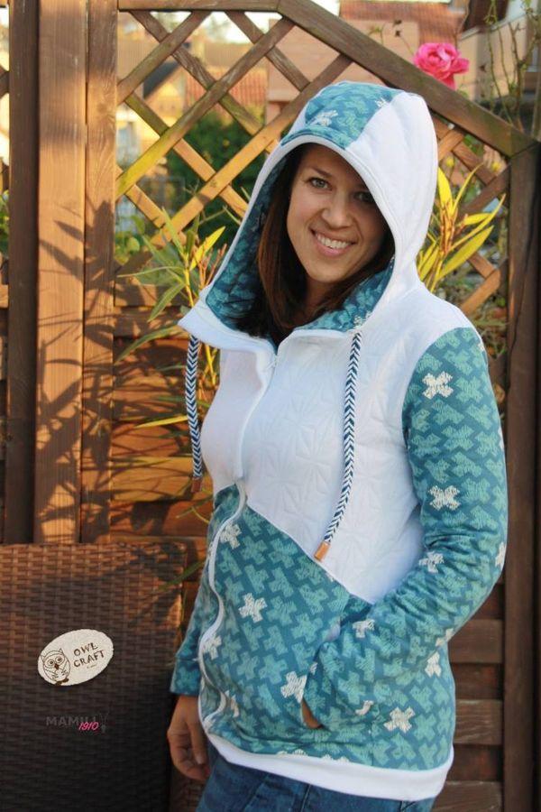 Produktfoto 3 von Mamili1910 für Schnittmuster KombiEBook Jacke Pihla Sweat+Softshell