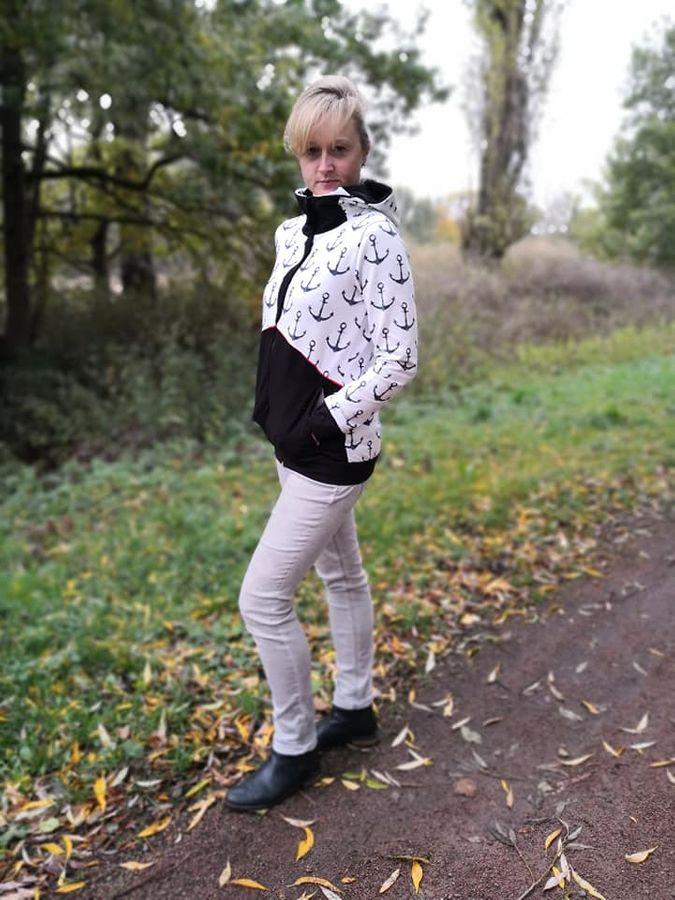 Produktfoto 5 von Mamili1910 für Schnittmuster KombiEBook Jacke Pihla Sweat+Softshell
