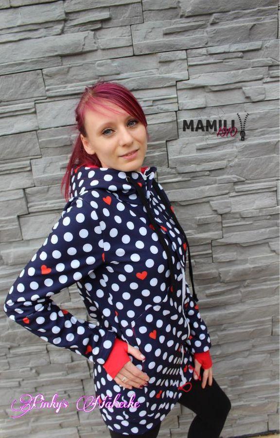 Produktfoto 7 von Mamili1910 für Schnittmuster KombiEBook Jacke Pihla Sweat+Softshell