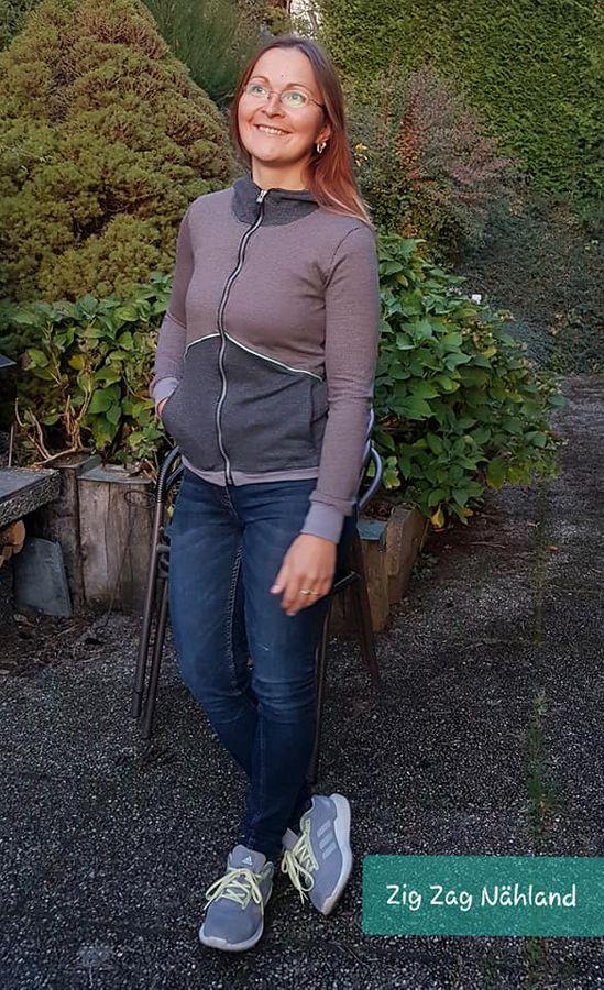 Produktfoto 8 von Mamili1910 für Schnittmuster KombiEBook Jacke Pihla Sweat+Softshell
