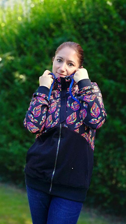 Produktfoto 13 von Mamili1910 für Schnittmuster KombiEBook Jacke Pihla Sweat+Softshell