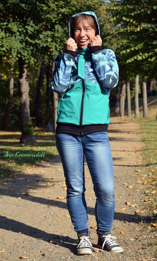 Produktfoto 16 von Mamili1910 für Schnittmuster KombiEBook Jacke Pihla Sweat+Softshell