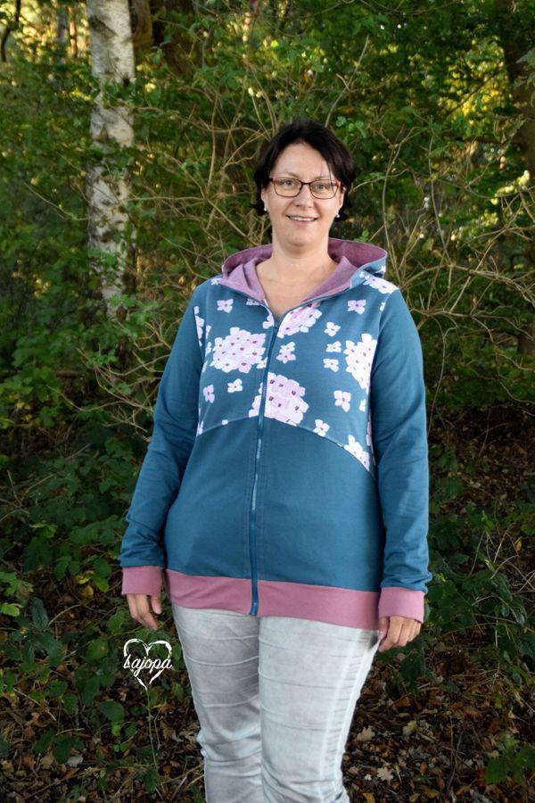 Produktfoto 19 von Mamili1910 für Schnittmuster KombiEBook Jacke Pihla Sweat+Softshell
