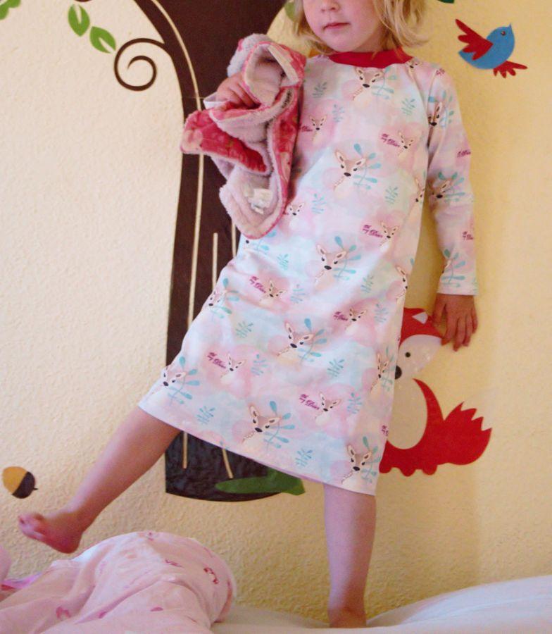 Produktfoto 3 von Happy Pearl für Schnittmuster  Happy Goodnight - Schlafshorty   Nachthemd   Pyjama
