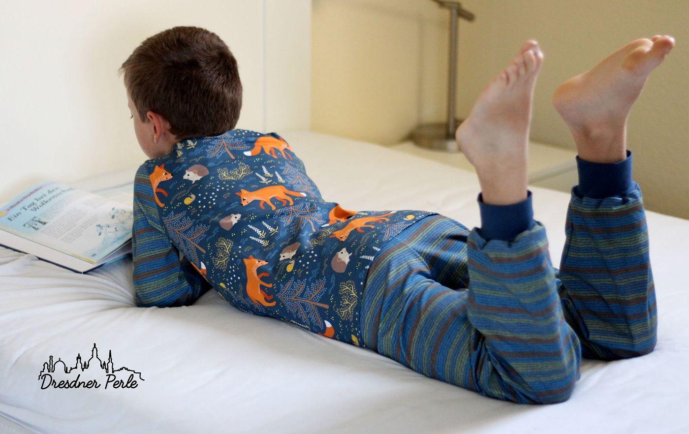 Produktfoto 5 von Happy Pearl für Schnittmuster  Happy Goodnight - Schlafshorty   Nachthemd   Pyjama