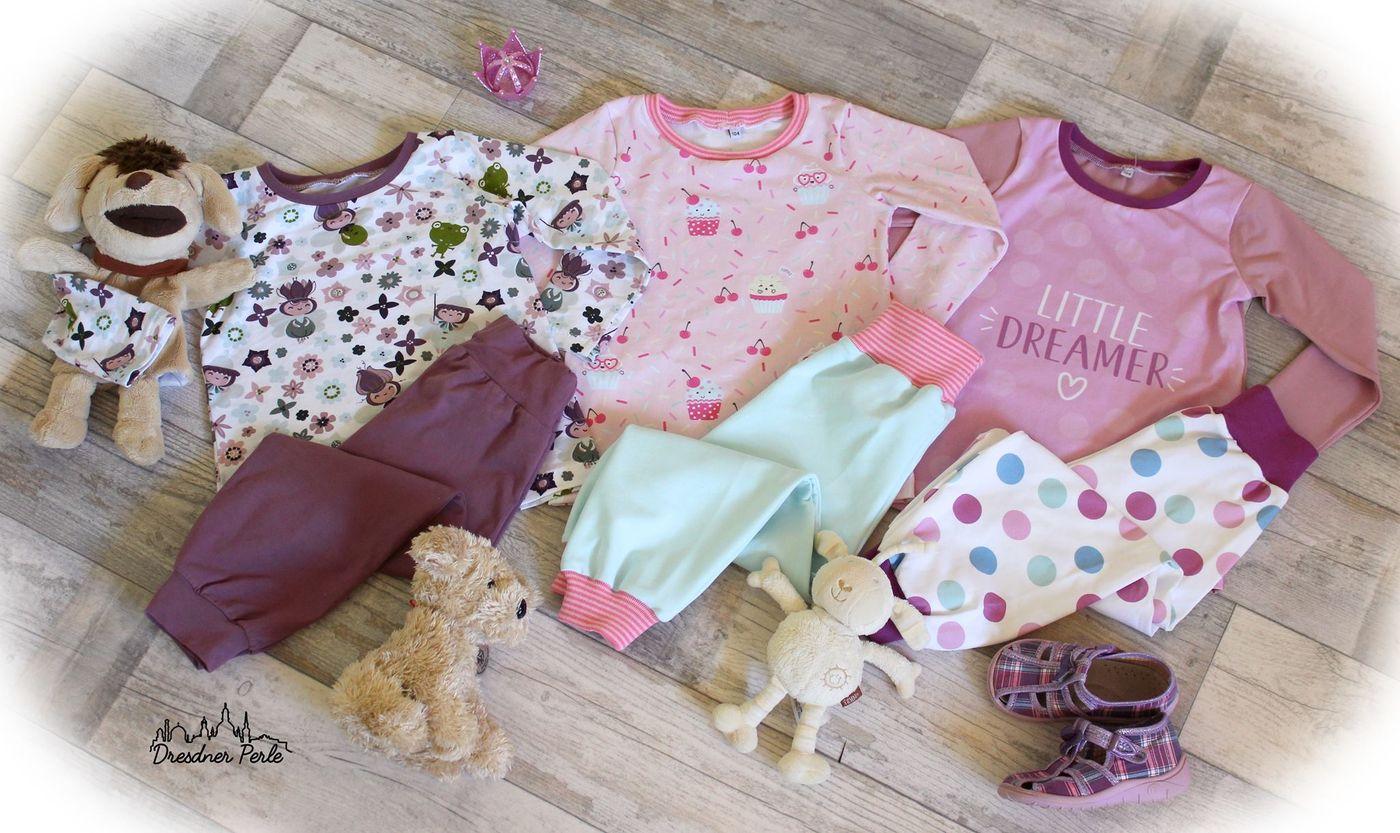 Produktfoto 6 von Happy Pearl für Schnittmuster  Happy Goodnight - Schlafshorty   Nachthemd   Pyjama