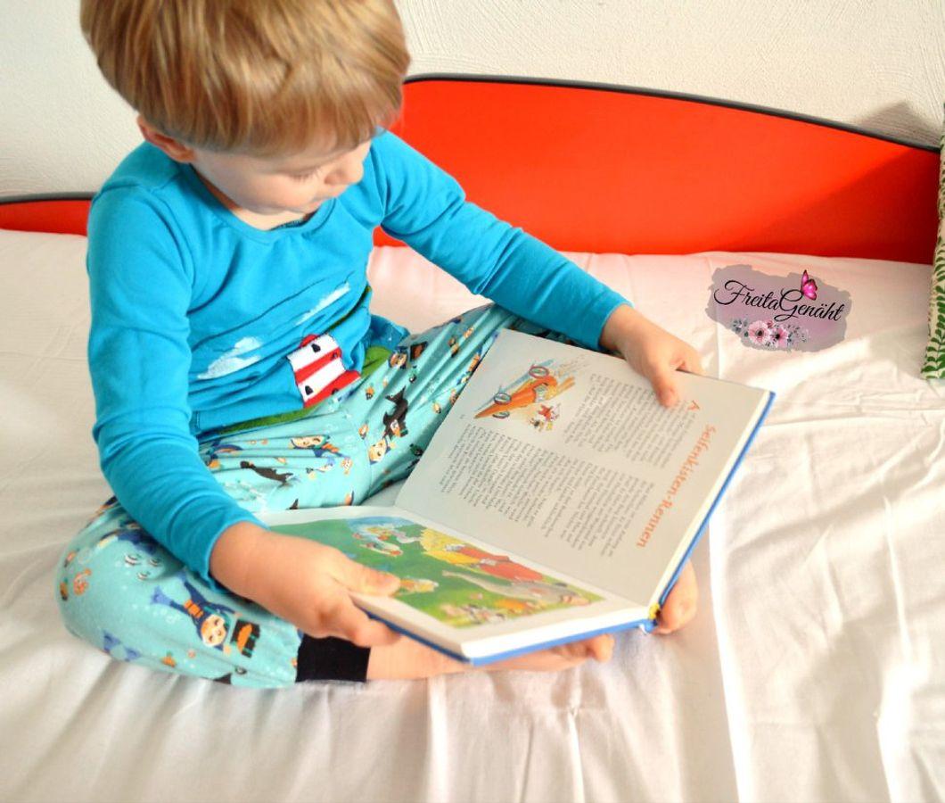 Produktfoto 7 von Happy Pearl für Schnittmuster  Happy Goodnight - Schlafshorty   Nachthemd   Pyjama