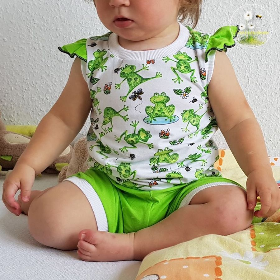 Produktfoto 9 von Happy Pearl für Schnittmuster  Happy Goodnight - Schlafshorty   Nachthemd   Pyjama
