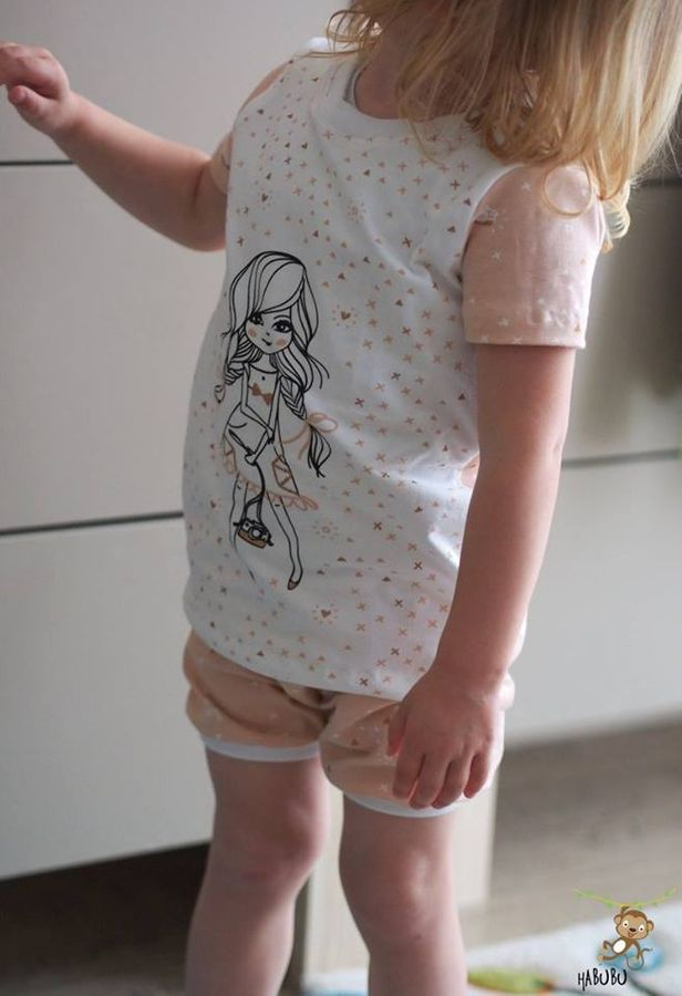 Produktfoto 10 von Happy Pearl für Schnittmuster  Happy Goodnight - Schlafshorty   Nachthemd   Pyjama