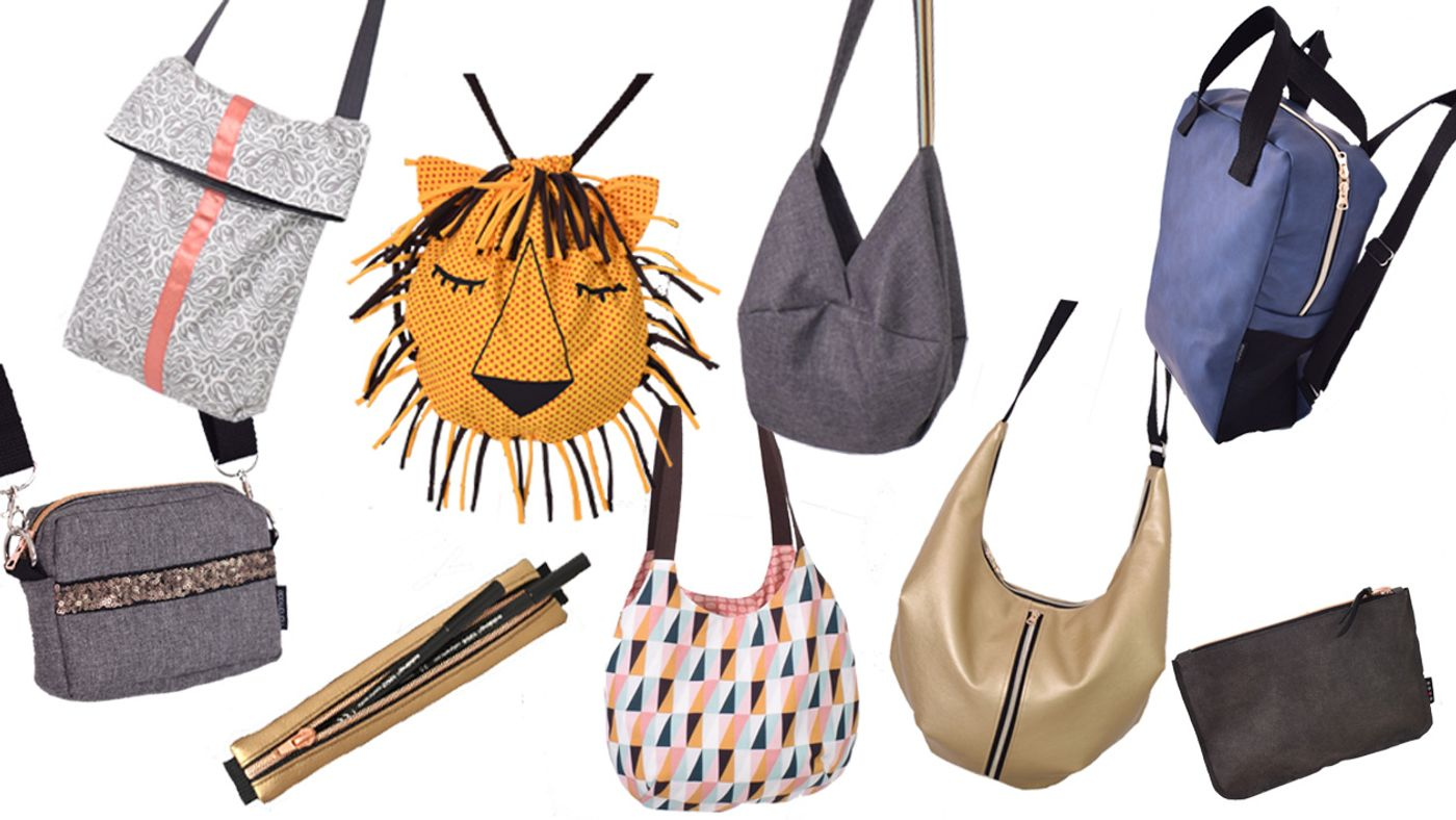 Produktfoto 1 von Leni Pepunkt für Schnittmuster BAG.pack Taschenbundle
