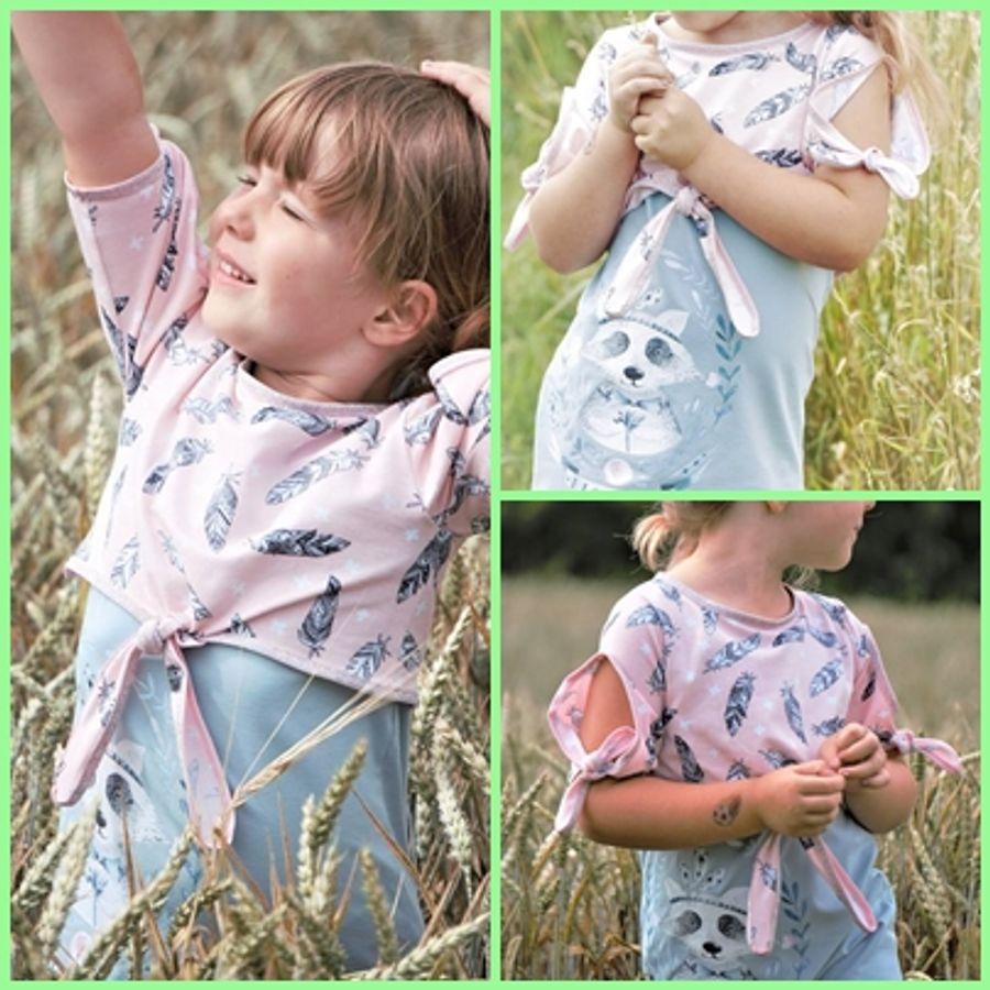 Produktfoto 3 von Rosalieb & Wildblau für Schnittmuster Kombi-Ebook Floria Girls + Floria Damen