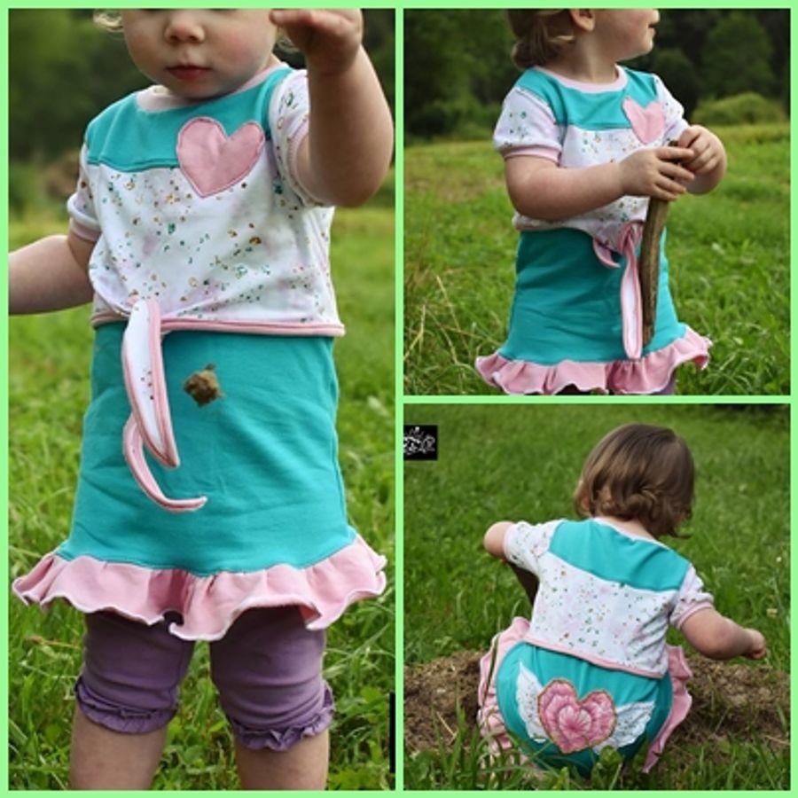 Produktfoto 5 von Rosalieb & Wildblau für Schnittmuster Kombi-Ebook Floria Girls + Floria Damen