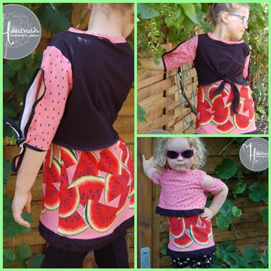 Produktfoto 6 von Rosalieb & Wildblau für Schnittmuster Kombi-Ebook Floria Girls + Floria Damen