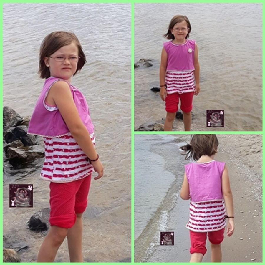 Produktfoto 8 von Rosalieb & Wildblau für Schnittmuster Kombi-Ebook Floria Girls + Floria Damen
