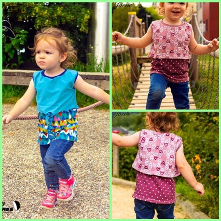 Produktfoto 10 von Rosalieb & Wildblau für Schnittmuster Kombi-Ebook Floria Girls + Floria Damen