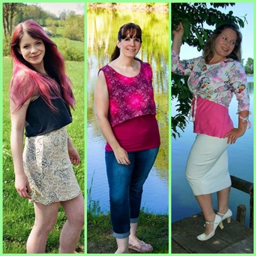 Produktfoto 11 von Rosalieb & Wildblau für Schnittmuster Kombi-Ebook Floria Girls + Floria Damen