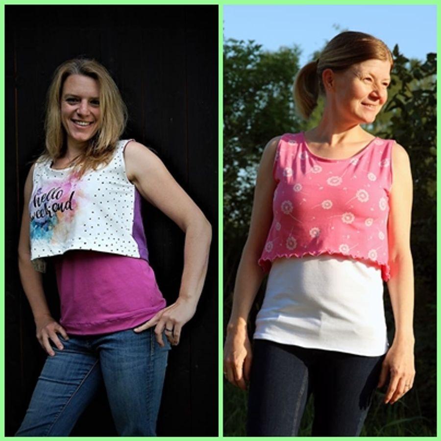 Produktfoto 12 von Rosalieb & Wildblau für Schnittmuster Kombi-Ebook Floria Girls + Floria Damen