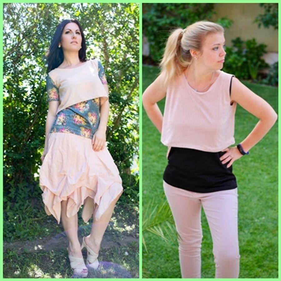 Produktfoto 13 von Rosalieb & Wildblau für Schnittmuster Kombi-Ebook Floria Girls + Floria Damen