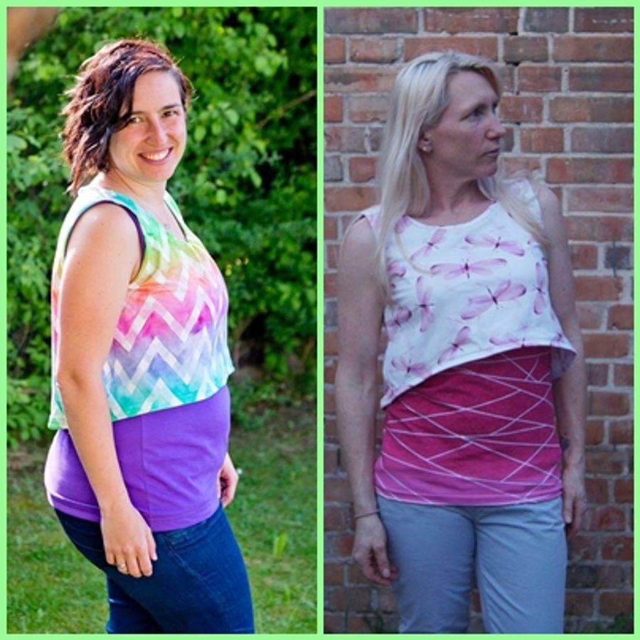 Produktfoto 14 von Rosalieb & Wildblau für Schnittmuster Kombi-Ebook Floria Girls + Floria Damen