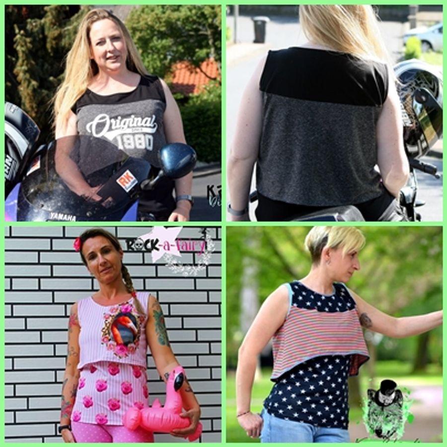 Produktfoto 15 von Rosalieb & Wildblau für Schnittmuster Kombi-Ebook Floria Girls + Floria Damen