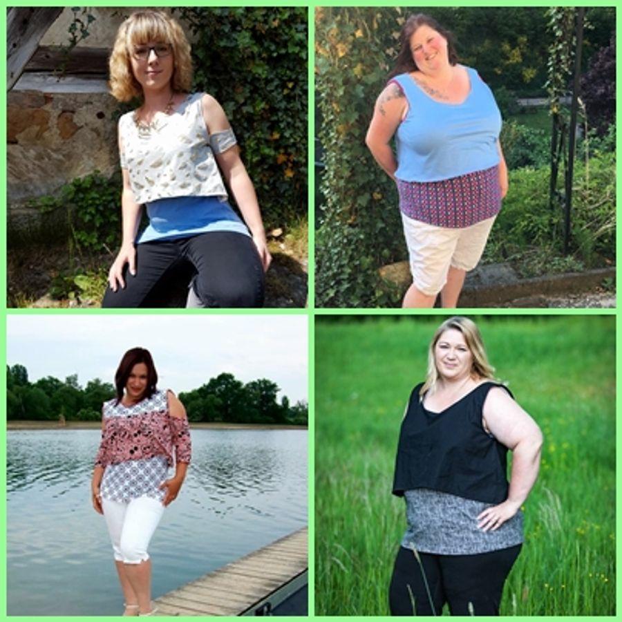 Produktfoto 16 von Rosalieb & Wildblau für Schnittmuster Kombi-Ebook Floria Girls + Floria Damen