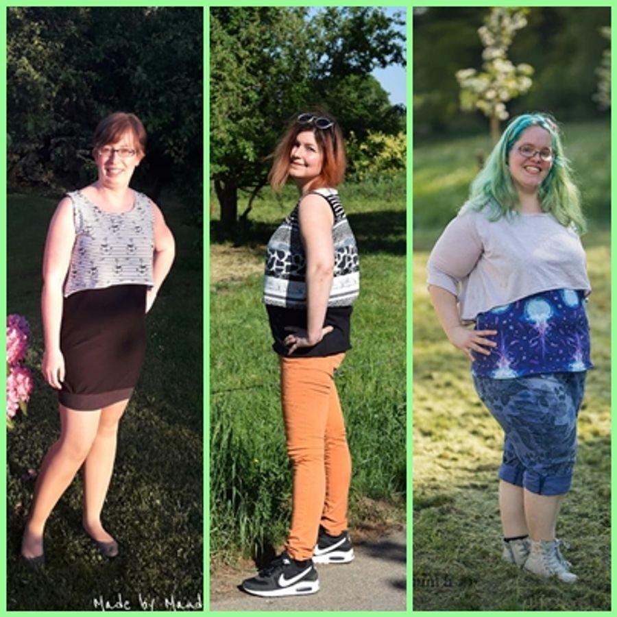 Produktfoto 17 von Rosalieb & Wildblau für Schnittmuster Kombi-Ebook Floria Girls + Floria Damen
