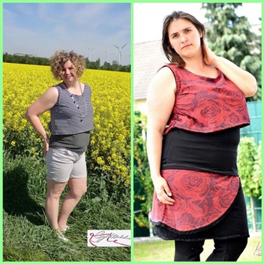 Produktfoto 18 von Rosalieb & Wildblau für Schnittmuster Kombi-Ebook Floria Girls + Floria Damen