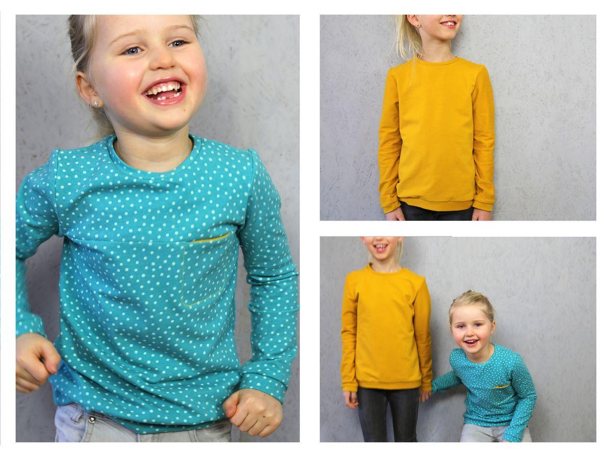 Produktfoto 4 von STUDIO SCHNITTREIF für Schnittmuster FRAU BENTE & BENTE Sweater im Partnerlook